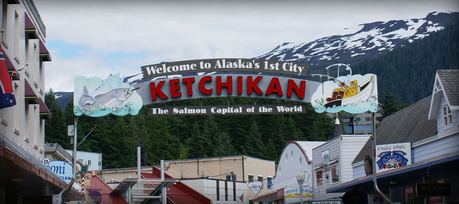 Ketchikan, Alaska - Salmon Capital of the World